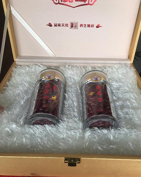 鹿茸血胶囊礼盒